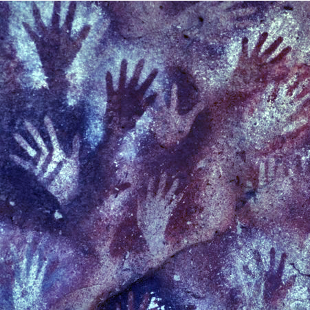 13,000 yr old cave art